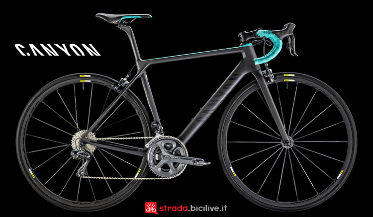 Canyon Ultimate WMN CF SLX 8.0 Di2 da donna