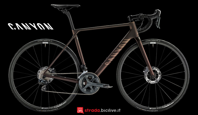 Canyon Ultimate CF SL Disc 9.0 Di2 cambio elettronico