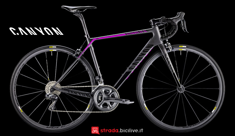 Canyon Ultimate WMN CF SL 9.0 Di2 bici da donna
