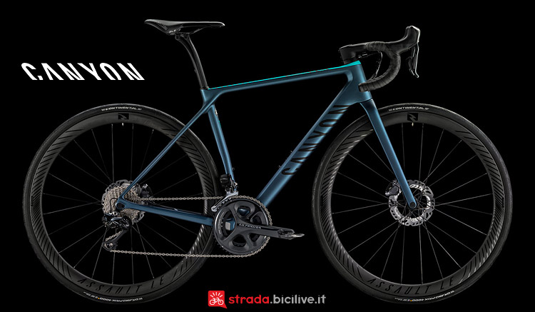 Canyon Endurace WMN CF SLX Disc 8.0 Di2 da donna