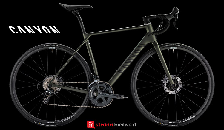 Canyon Endurace CF SL Disc 9.0 SL dal catalogo 2017