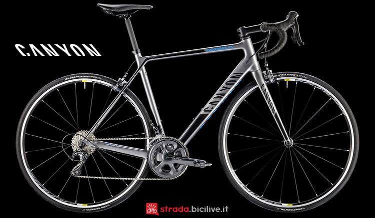 Canyon Endurace CF 7.0 SL bici da granfondo