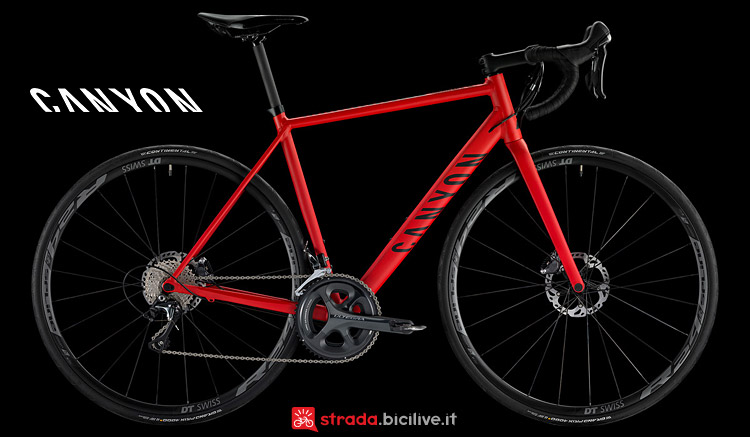Canyon Endurace AL Disc 7.0 in alluminio
