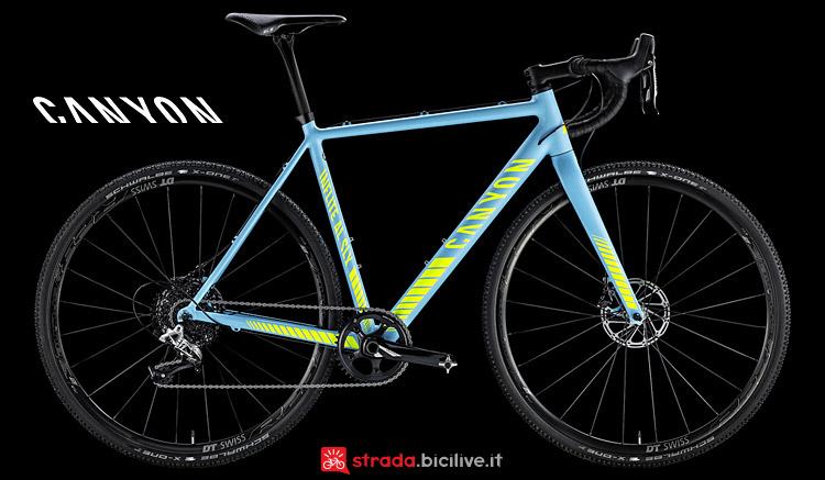 Canyon Inflite AL SLX 8.0 Pro Race bici da strada 2017