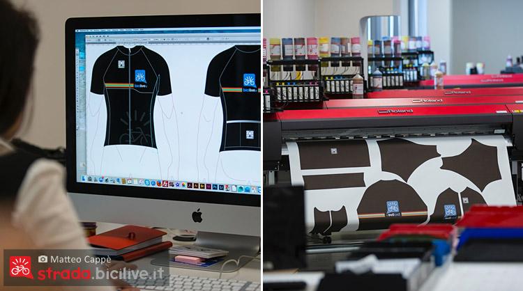 progettazione e stampa delle maglie personalizzate santini custom