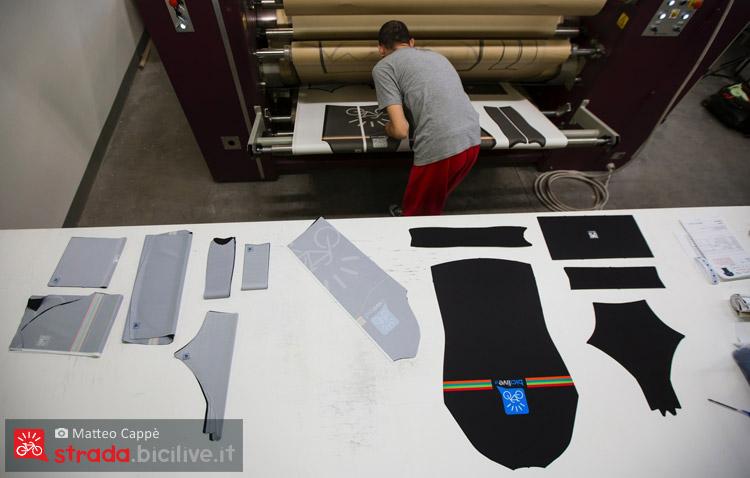 stampa e trasferimento colori nell'abbigliamento santin custom