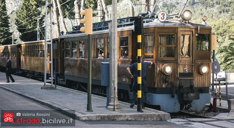 il trenino di soller a Maiorca