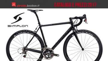 bici da corsa Simplon dal catalogo e listino prezzi 2017