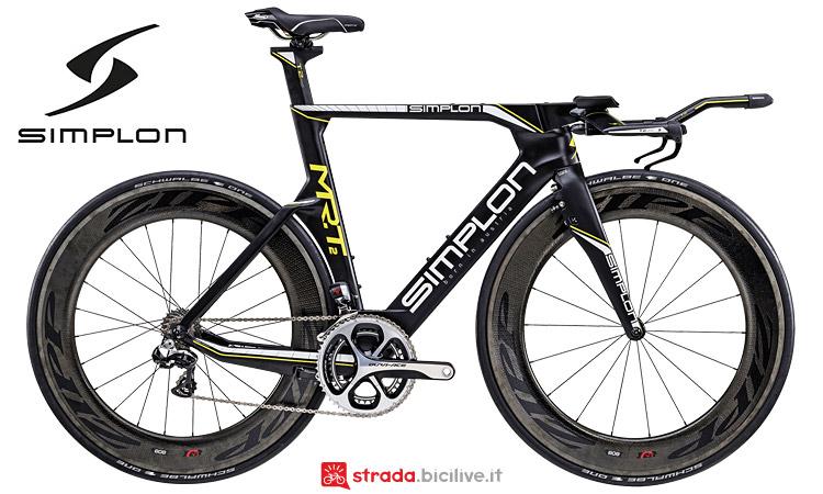 La bici da triathlon Simplon MR.T2 dal catalogo 2017