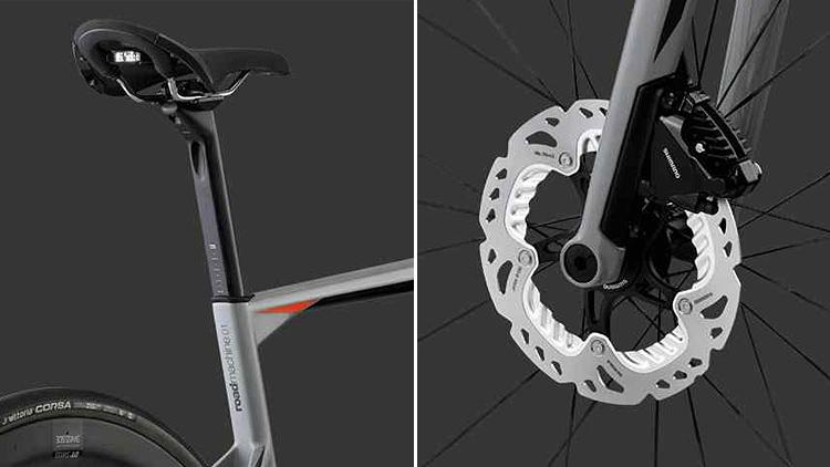 dettagli del design della BMC Roadmachine 01