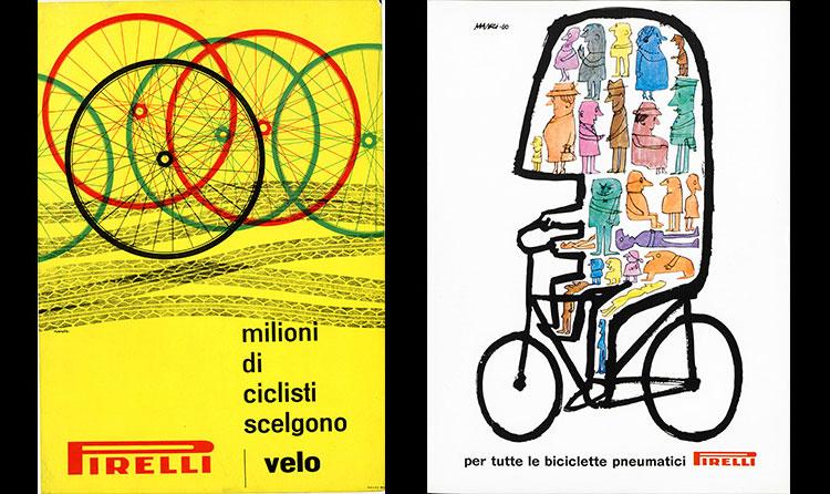 pubblicità ciclismo Pirelli