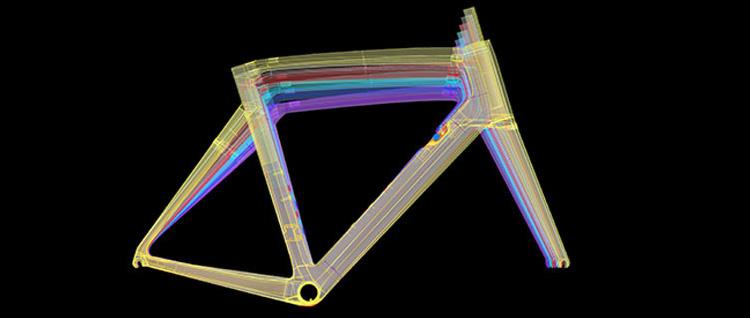 geometrie del telaio della cento 10 air wilier