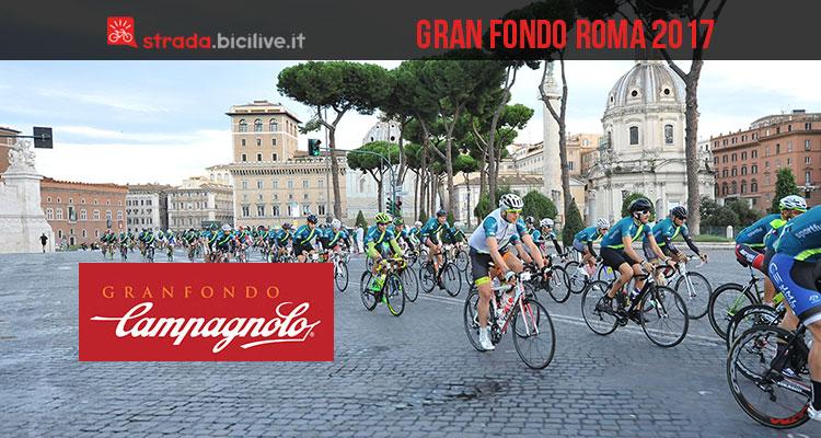 Gran Fondo Campagnolo Roma 2017