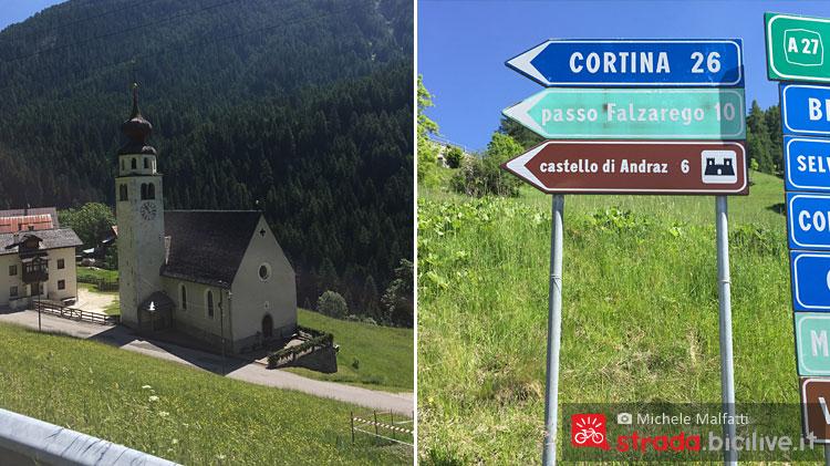 indicazioni stradali per il dolomites bike day