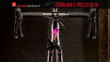 bici specialized dal catalogo 2018