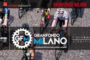 ciclisti alla granfondo di milano
