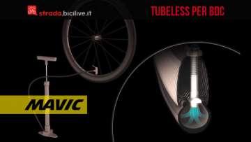 mavic ust sistema tubeless per bici da strada