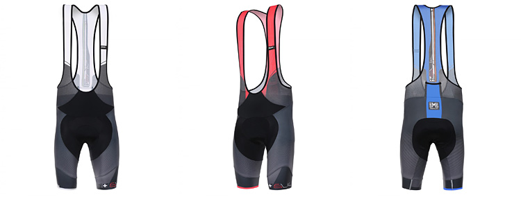 pantaloncini da ciclismo santini sleek plus