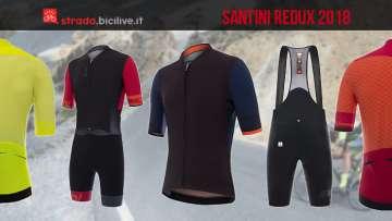 abbigliamento da ciclismo santini redux