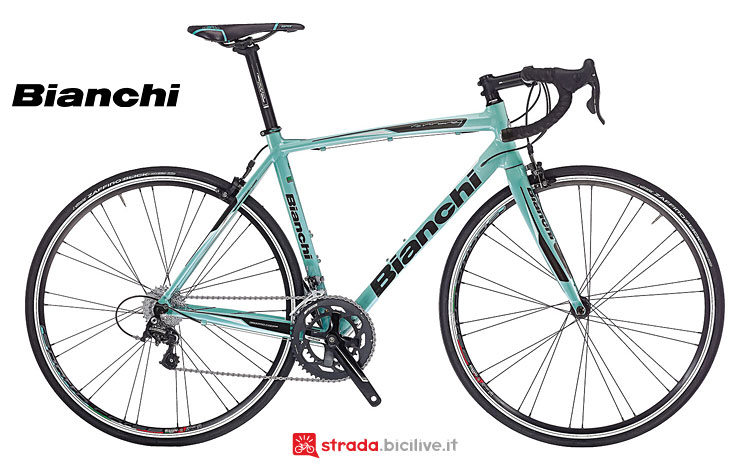 Bianchi Via Nirone 7 con gruppo Campagnolo Xenon e cambio 2x11