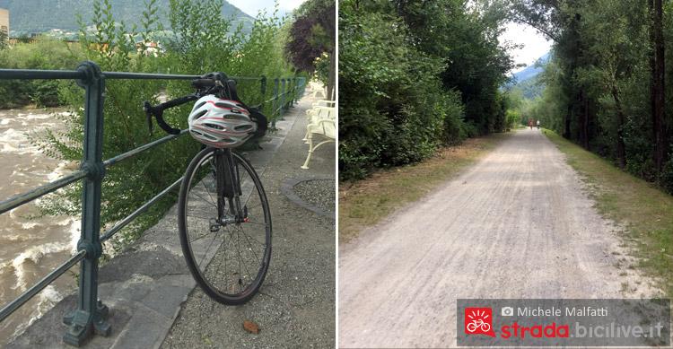 bicicletta gravel e sterrato prima di merano