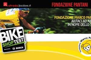 Bike Shop Test e Fondazione Pantani per il ciclismo