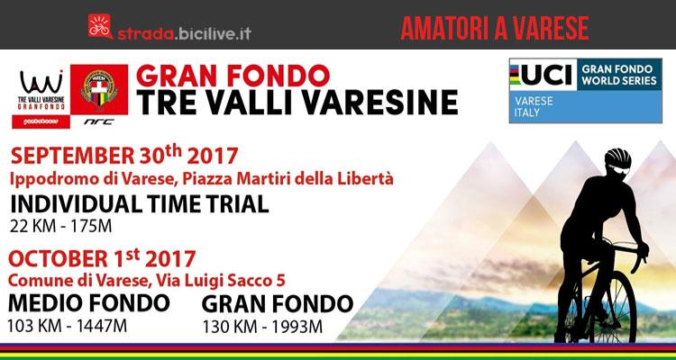 Granfondo Tre Valli Varesine 2017