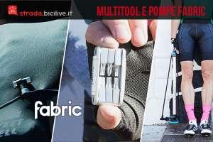 pompe e multitool per ciclisti di fabric