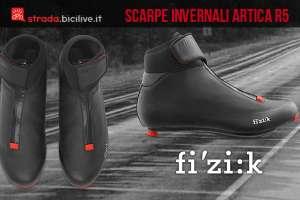 scarpe da ciclismo invernali fizik artica r5