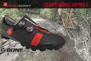 foto delle scarpe da gravel Bont vaypor g