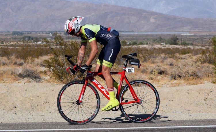record ultra marathon con bici fuji