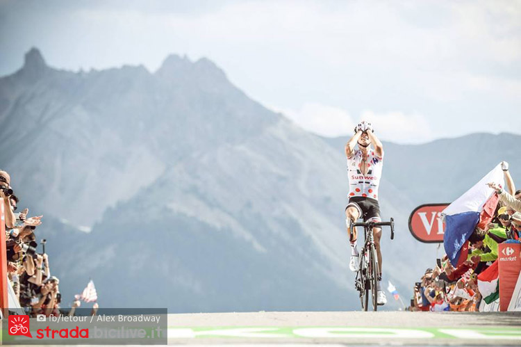 maglia a pois dello scalatore al tour de france