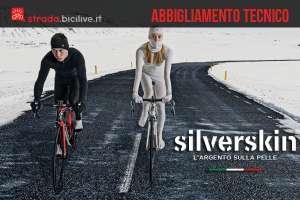 Intimo per ciclisti Silverskin in tessuto tecnico