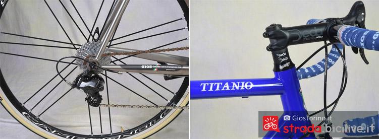 componenti personalizzati gios titanio