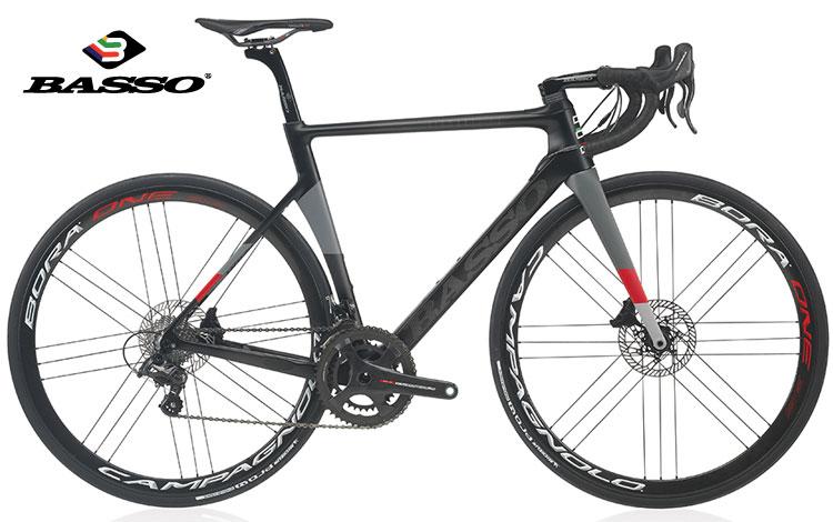 La nuova bicicletta da corsa Basso Diamante SV Disc