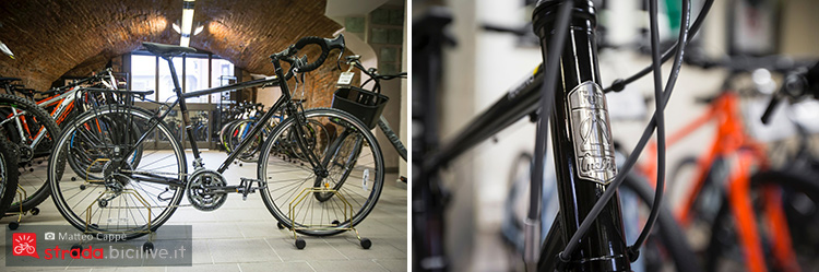 foto di una bici urban al fuji bike store