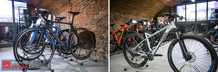 foto di due bici fuji