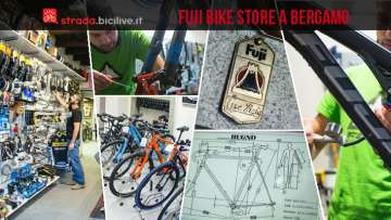 foto del fuji bike store di bergamo