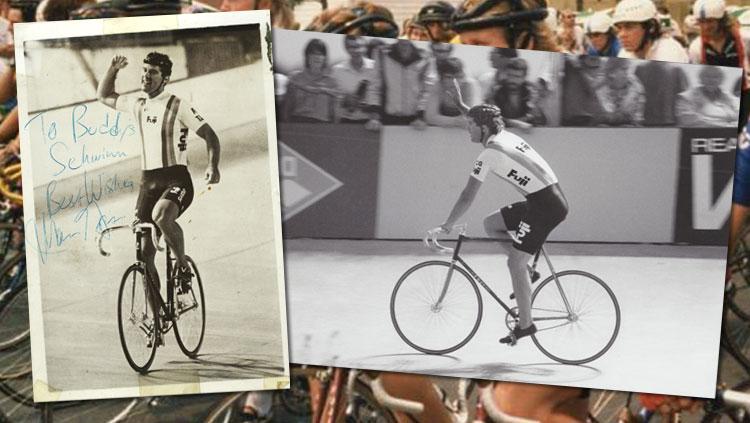 mark gorski vince olimpiadi con bici fuji