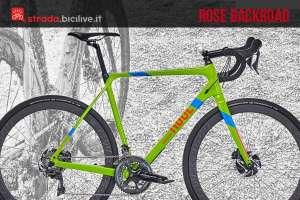 rose backroad bdc da gravel e ciclocross