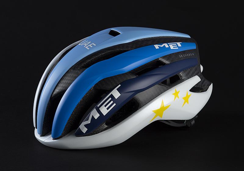 Il casco met 3k del campione europeo Kristoff