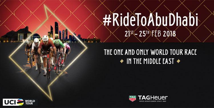 Immagine promozionale del Abu Dhabi Tour 2018