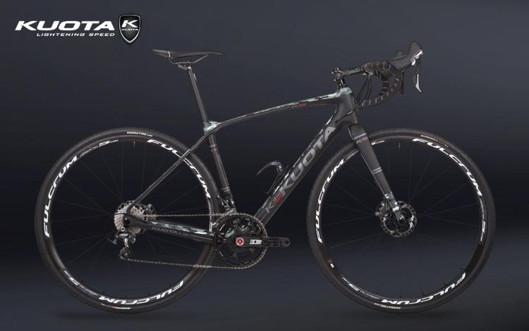 Una bicicletta gravel Kuota K-AllRoad 2018