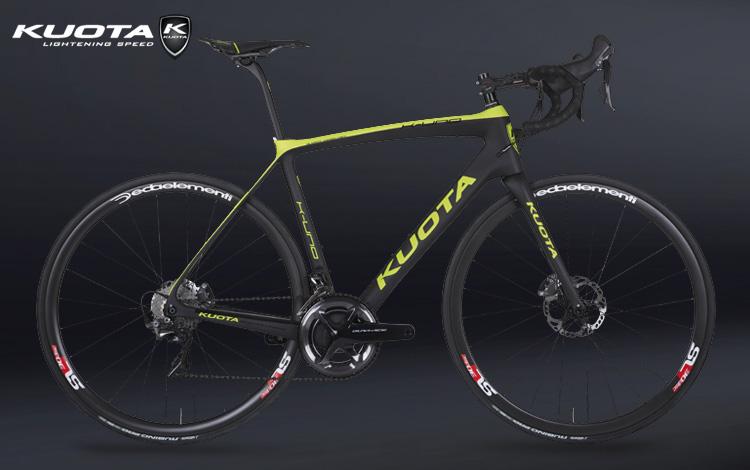 Bicicletta da corsa Kuota K-Uno Disc del catalogo 2018