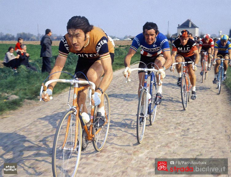 merckx cannibale alla paris roubaix