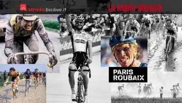 protagonisti della storia della parigi roubaix