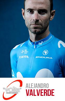 Valverde del team Movistar vincitore del Giro di Catalogna