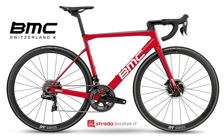 bici da strada top di gamma 2018 bmc teammachin slr 01 disc