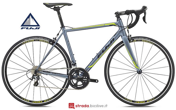 Fuji Roubaix disponibile in 7 taglie