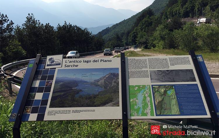 pannello informativo della Provincia di Trento